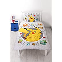 Pokemon Go Catch Single Duvet Cover Set Inc. Pillowcase