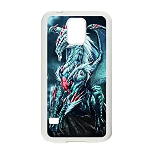 TOSOUL Customized Print Dragon Hard Skin Case For Samsung Galaxy S5 I9600
