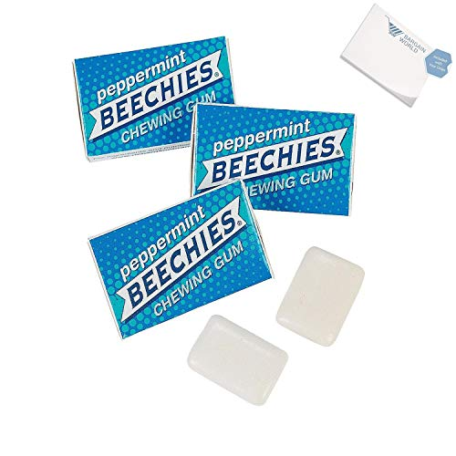 Gum Beechies (Bargain World Beechies Gum (With Sticky Notes))