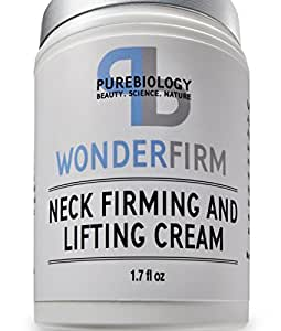 Neck Firming Cream with Breakthrough Lifting & Anti Wrinkle Complexes – Complete Anti Aging Moisturizer for Neck, Chest and Decollete