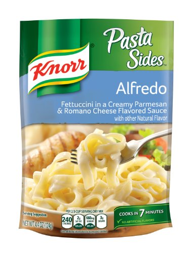 Knorr Pasta Sides Fettuccini, Alfredo, 4.4 Oz. (Pack of (Outdoor Pasta Alfredo)