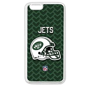 "Onelee Customized NFL Series Case for iPhone 6 4.7"", NFL Team New York Jets Logo iPhone 6 4.7"