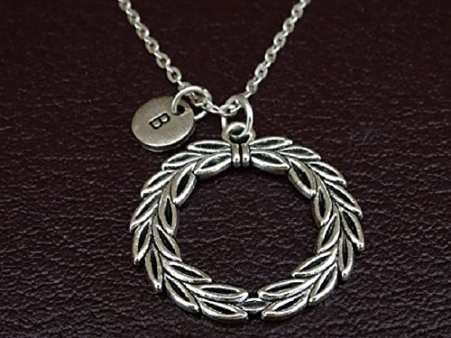 Amazon.com: Laurel Wreath Necklace, Laurel Wreath Charm ...