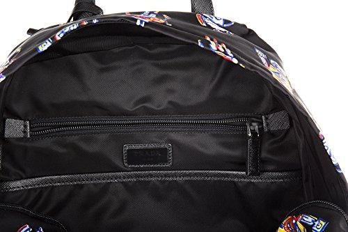 Prada sac à dos homme en Nylon robot noir