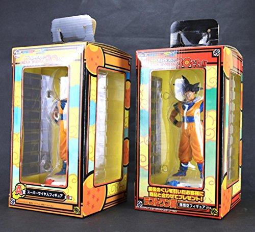 [Ichiban Kuji Dragon Ball Z Kai Thank You 30th Super Saiyan Son Goku Gokou 20CM Action Figure] (Dragon Ball Costume With Tail)