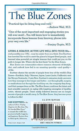 The Blue Zones: Lessons for Living Longer From the People Who've ...