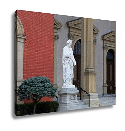 Ashley Canvas, Saint Peters Statue, Home Decoration Office, Ready to Hang, 20x25, AG6362545 by Ashley Canvas