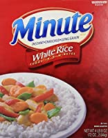 Minute Instant Enriched Long Grain White Rice, 72oz by Kraft