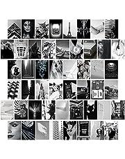 50 STKS Muur Collage Kit (4x6) Inch10x15cm Slaapkamer Muur Art Collage Foto, Trendy Decor Esthetische Poster, Dorm Foto Display voor Tiener Jongens en Meisjes