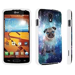DuroCase ? LG Volt LS740 / F90 Hard Case White - (Space Pug)