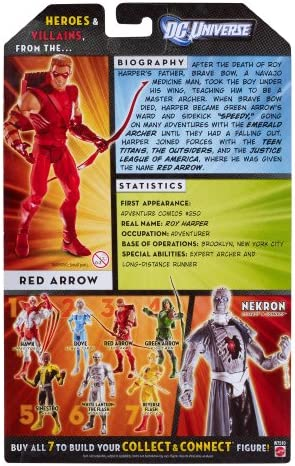 DC UNIVERSE CLASSICS SERIES WAVE 20 GREEN ARROW SIDEKICK RED ARROW SPEEDY