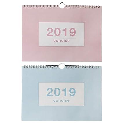 Fafalloagrron 2019 - Calendario de papel para colgar (calendario ...