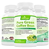 Natrogix 800mg Green Coffee Bean Extract with GCA Natural Weight Loss Supplement, 180 Capsules