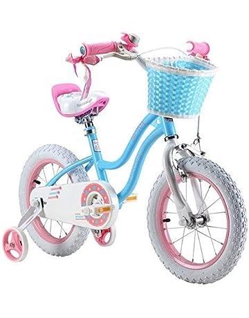 09db9e57d60 Royalbaby star-girl girl s kids children bike in colour blue and rose