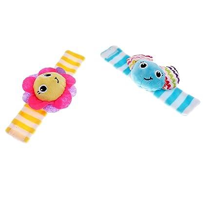 Sharplace Juguetes Sensoriales para Bebés Pelotas Rompecabezas Peluches Muñecos Ropa Niños - Multicolor1