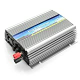 AGPTEK® 500W Micro Grid Tie Power Inverter Converter (DC 10.5V-30V to AC 110V) for Home Solar Panel System with High-frequency High Conversion Rate, MPPT Function Pure Sine Wave