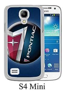 Pontiac Logo White Unique Abstract Custom Samsung Galaxy S4 Mini Case