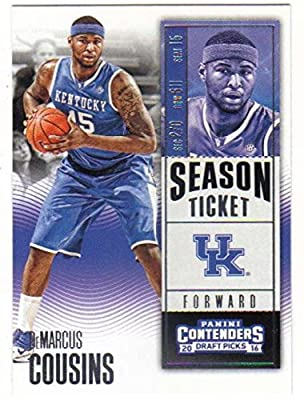 Basketball NBA 2016-17 Panini Contenders Draft Picks Season Ticket #25 DeMarcus Cousins NM-MT
