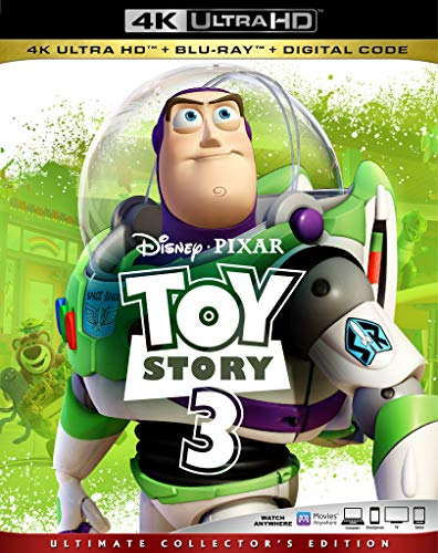 TOY STORY 3 [Blu-ray] (Collection 3d Toy Story)