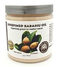 Babassu Oil Organic Cold Pressed Unrefined 16 oz