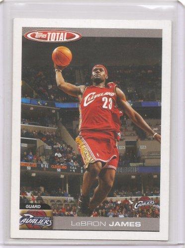 2004-05 Topps Total Basketball Card # 4 - LeBron James