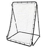 KELAND Portable Pitch Back Training Screen,44 x 64inch Pitch Back Baseball Softball Lacrosse Rebounder Pitching Throwing Catching Practice(US Stock)