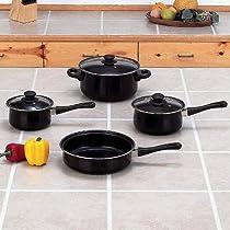 Chef Secret® 7-Piece Steel Nonstick Cookware Set