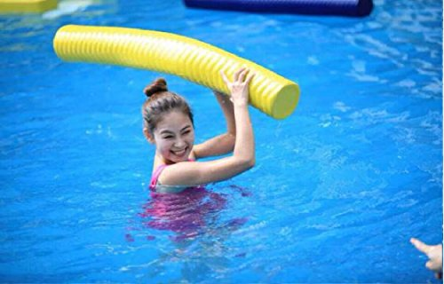 Fun float swimming pool noodle super soft closed cell memory import it all for Swimming pool noodle fun chair