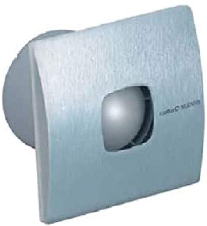 CATA SILENTIS 10 INOX Acero inoxidable - Ventilador (Acero inoxidable, Techo, Pared, De plástico, 37 dB, 2500 RPM, 98 m³/h): Amazon.es: Hogar