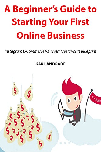 A Beginner's Guide to Starting Your First Online Business: Instagram E-Commerce Vs. Fiverr Freelancer's Blueprint (English Edition)