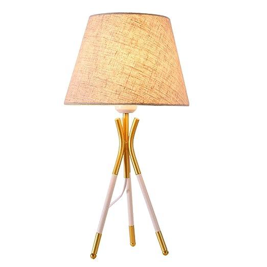 Lámpara de mesa Trípode antienvejecimiento Nordic Lámpara de ...
