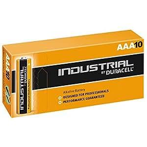 Duracell Procell batería alcalina AAA 1.5V Ref MN2400 [Pack de 10]