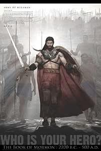 LDS libro de mormón Hero 60,96 cm x 91,44 cm póster de