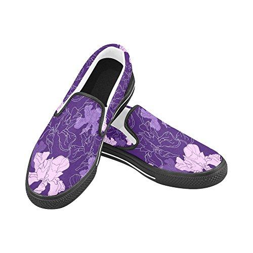 Scarpe Da Donna Slip-on Personalizzate Multicolore