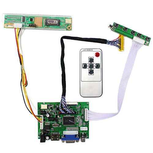 HDMI+VGA+2AV Input LCD Controller Board For B154PW01V LP171WP4 15.4'' 17'' 1440x900 30Pins LCD Panel by LCDBOARD (Image #6)