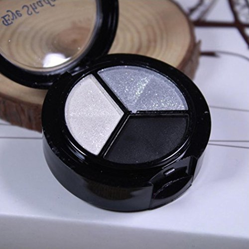 CMrtew Smoky Eyeshadow Palette 3 colors Set Eye Shadow Powder Professional Natural Matte Palette Cosmetics (H) by CMrtew (Image #2)