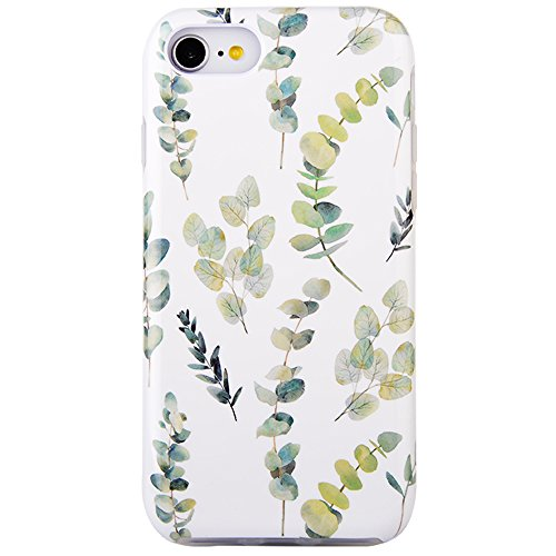 Dimaka Case for iPhone 7 Case for Girls, Cute Floral Print Pattern Protective Case with [Drop Proof][Full Cover][Retro Design] for iPhone 7 4.7 (99)