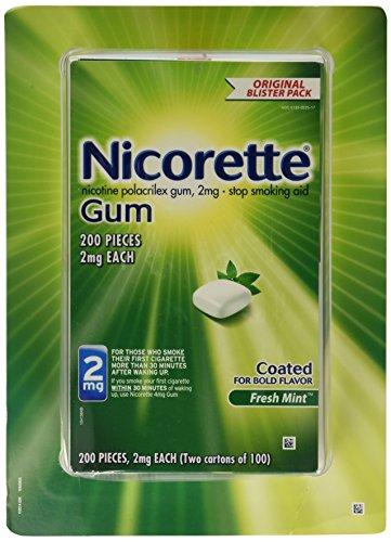Nicorette Gum Fresh Mint 2 mg - 200