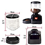 Automatic Pet Feeder Dog Cat Recording Programmable Animal Food Bowl Dispenser