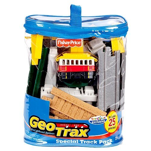 (Geotrax Transportation System Special Track Pack 25)