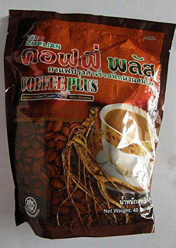 Coffee Ginseng Healthty Coffee Form Thailand (40 Sachetspack)