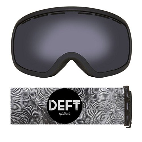 Deft Optics Unique Snow Goggles - Anti-Fog Removable Lens (Spy Omega Lens compare prices)