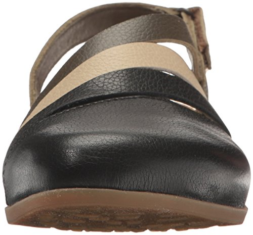 El Naturalista Womens Zumaia NF45 Leather Sandals Black Mixed