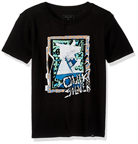 (Quiksilver Boys' Little Magic Collage Youth TEE, Black, 4)