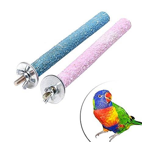 Autone Arnés de juguete colorido para masticar pájaros y pájaros ...