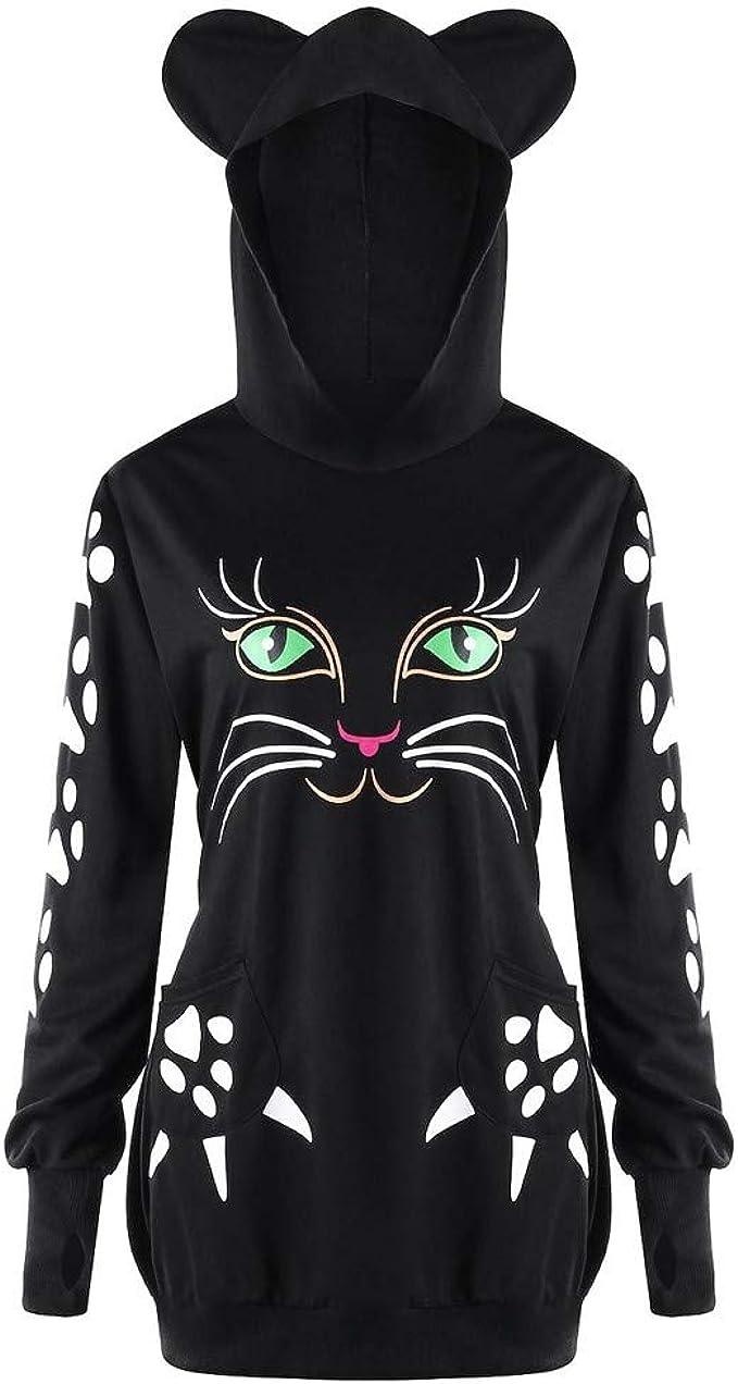 Long Sleeve Hoodie Print Cartoon Cute Christmas Cats Socks Jacket Zipper Coat Fashion Mens Sweatshirt Full-Zip S-3xl