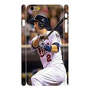 Wonderful Sports Series Designer Print Baseball Player Print Phone Shell Skin for Iphone 6 Plus Case - 5.5 Inch