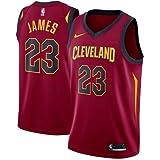 Nike CLE W Nk Swgmn JSY Road Trikot 2a Cleveland Cavaliers 17-18 Basketball, Damen