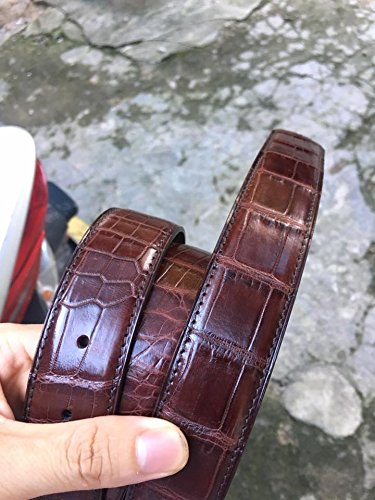 Genuine Crocodile Leather Belt - Without Buckle by vnhandmade