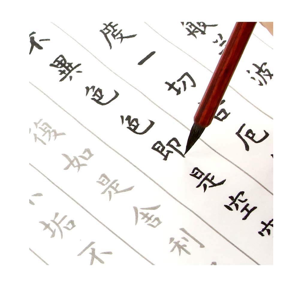 カリグラフィー用コピーブック、クラシック中国書道、Hannya Shingyo、30個。 B07GL31PL9
